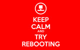 keep calm reboot